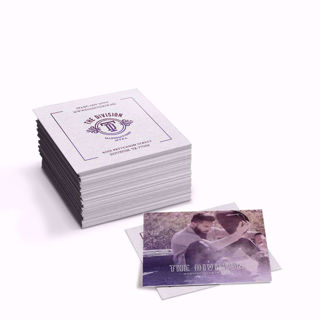 Premium 2.5in x 2.5in wholesale fat business cards
