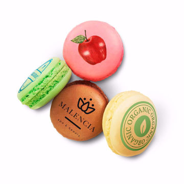 Picture of Wholesale Macaron Logo Cookies